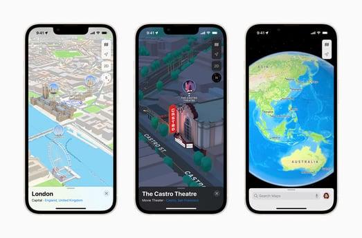 apple 3D maps