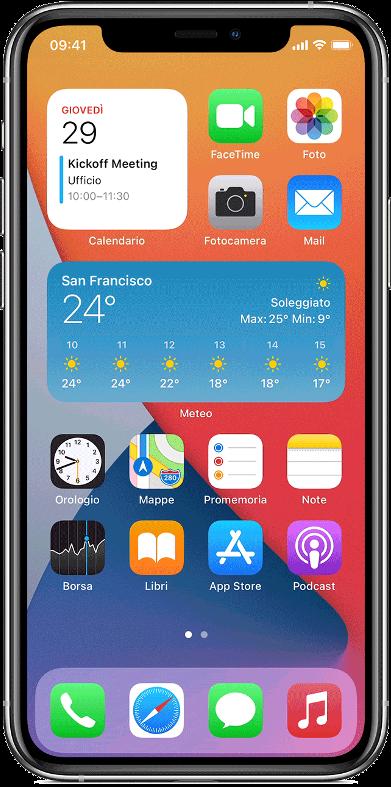 widget collector iOS14